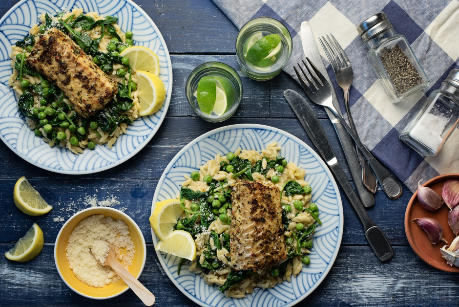 Pan-Seared Lemon Haddock