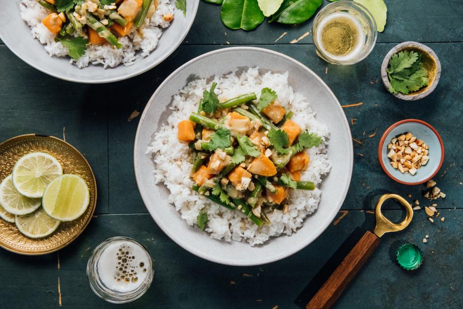 Thai Coconut Green Curry