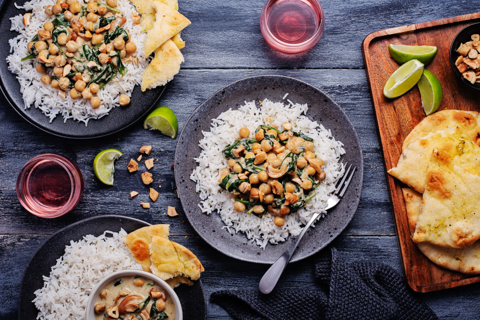 Sri Lankan-Style Chickpea Curry