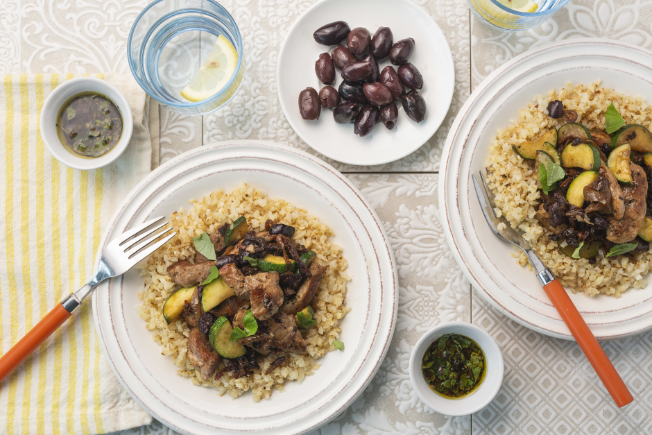 Mediterranean Pork Stir-Fry