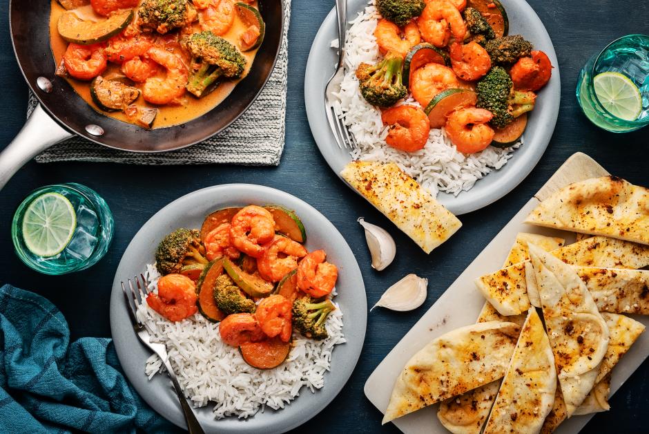 Tandoori Shrimp Coconut Curry