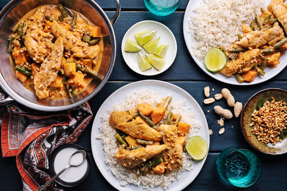 Thai Massaman Chicken Curry