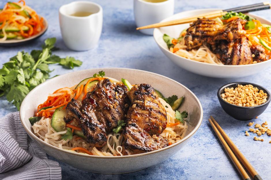 Vietnamese-Style Grilled Chicken