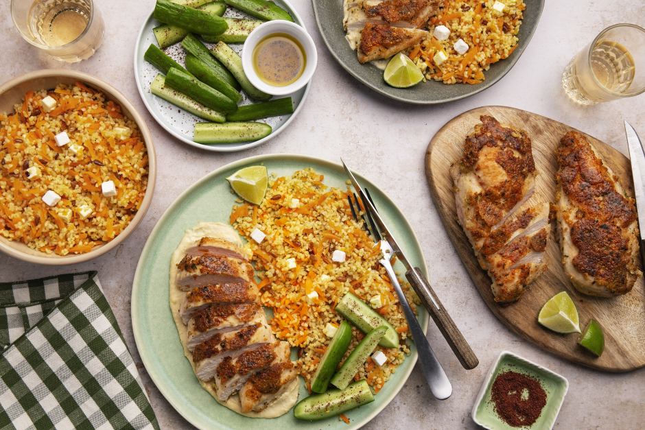 Falafel-Crusted Chicken Breasts
