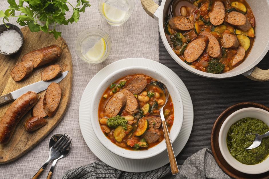 Tuscan-Style Sausage Ribollita