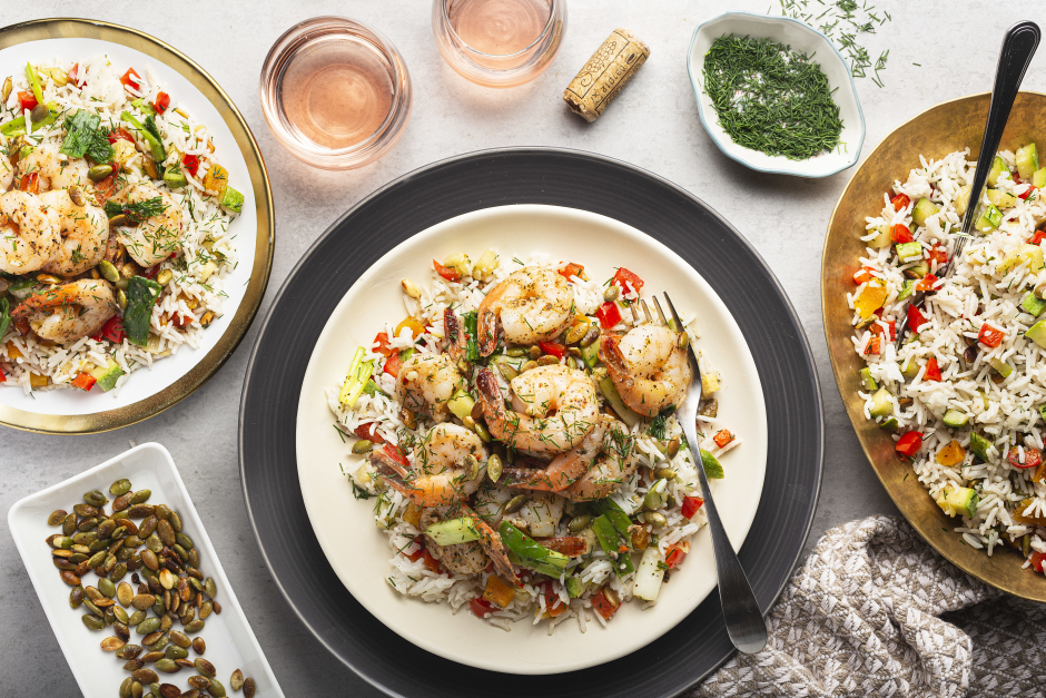Persian-Style Sumac Shrimp