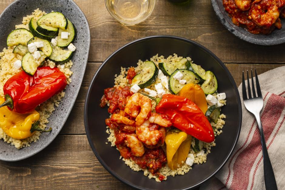 Greek-Style Shrimp Saganaki
