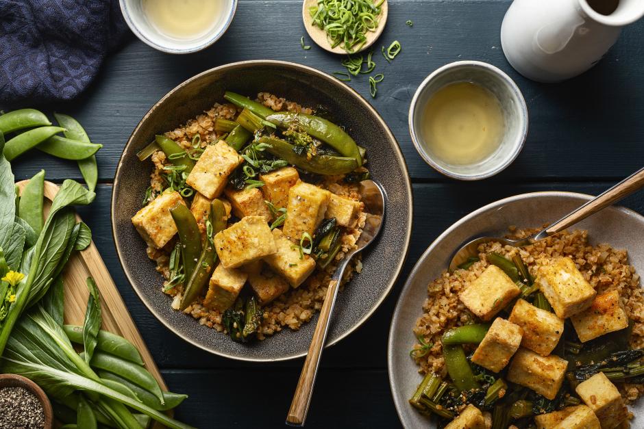 Crispy Sweet & Sour Tofu