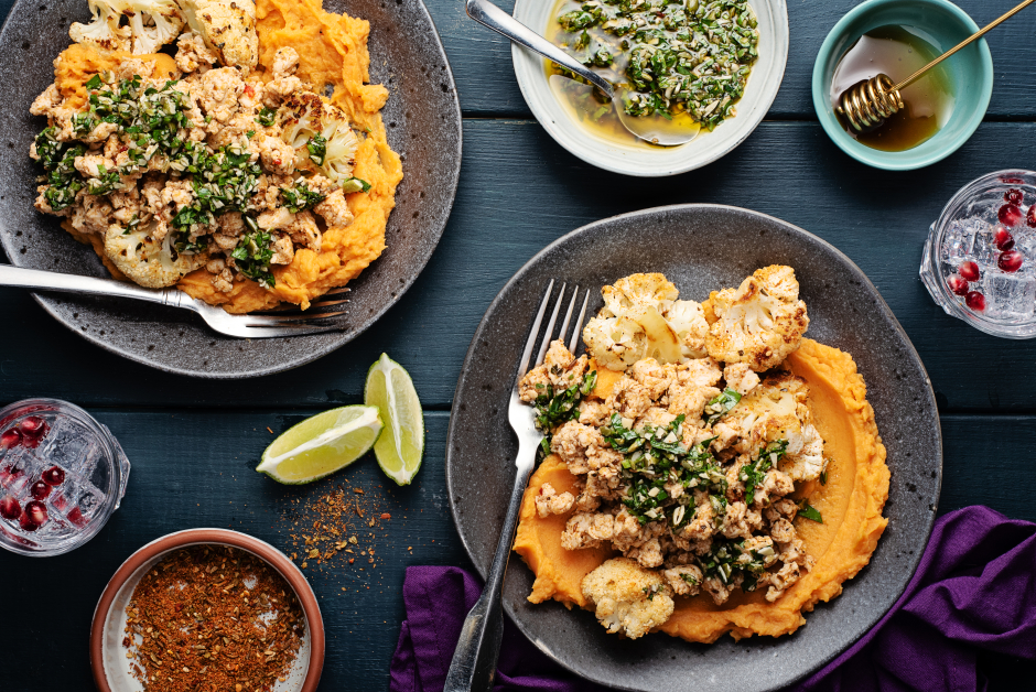 Mexican-Spiced Ground Turkey & Sweet Potato Fiesta