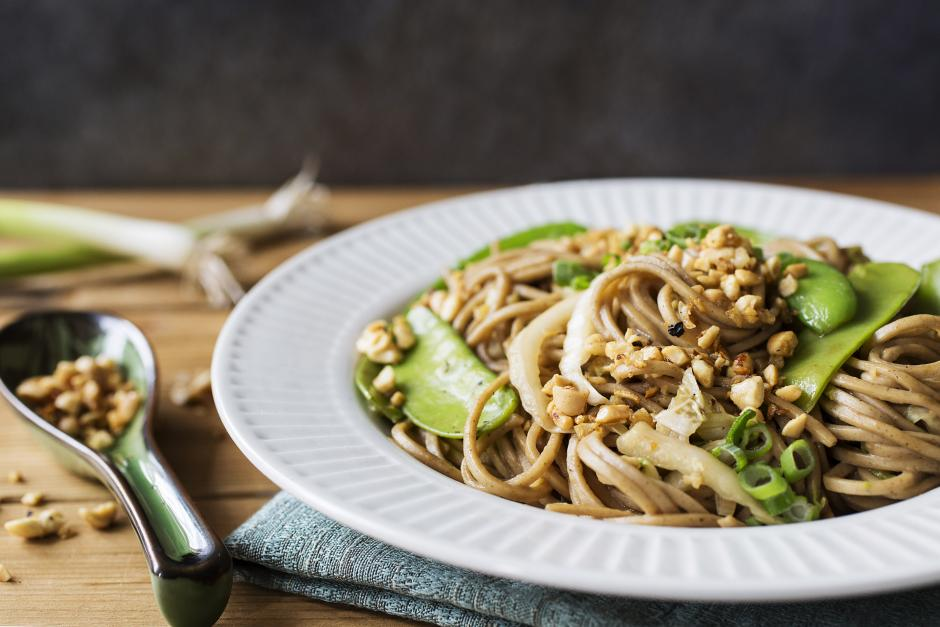 Sweet & Spicy Soba Noodles