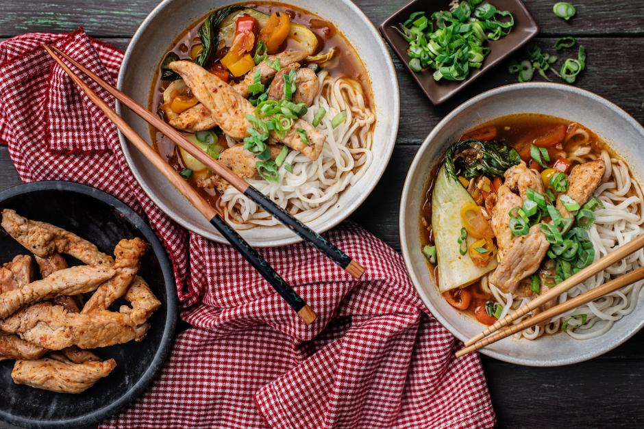 Kimchi Jjigae with Pork Strips