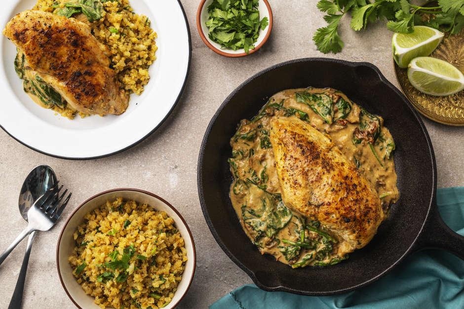 Coconut Curry Chicken Skillet