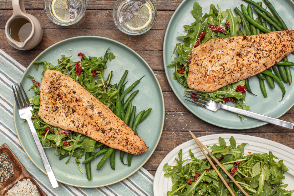 Pan-Seared Trout