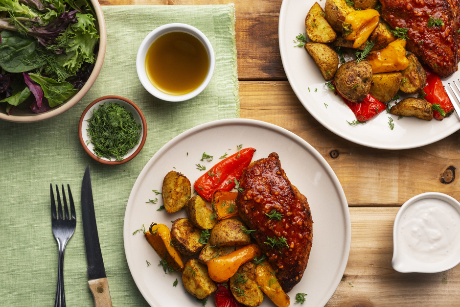 Harissa Chicken & Baby Potatoes