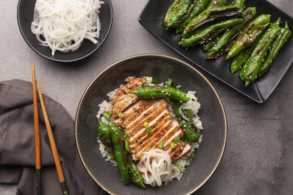 Thai Seared Pork Chops