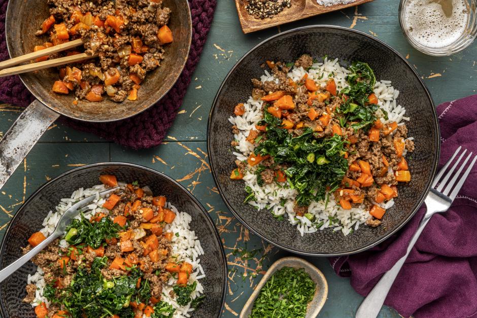 Ethiopian-Style Ground Beef