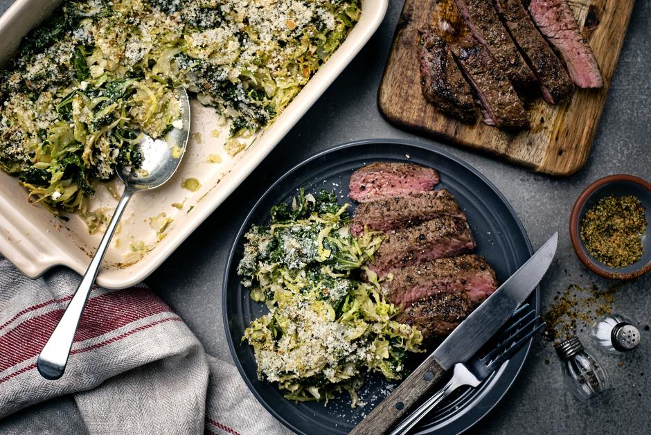 Spice-Crusted Seared Steak