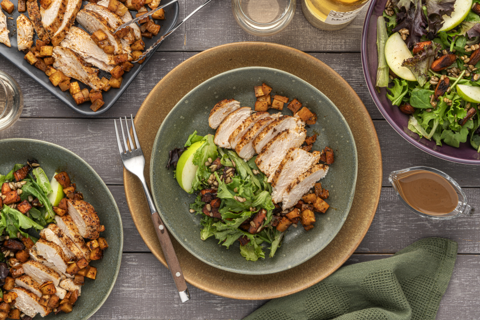 Seared Chicken Breasts & Parsnips