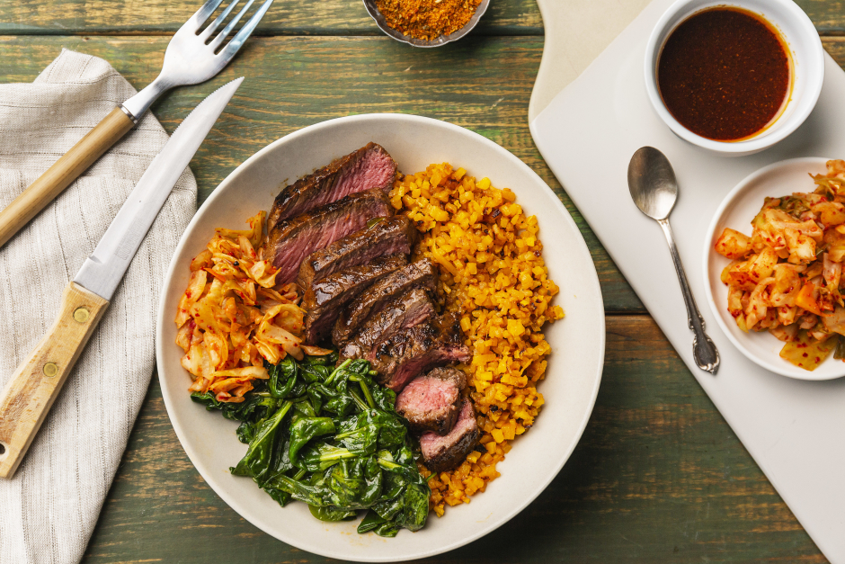 Sesame Steak Bibimbap