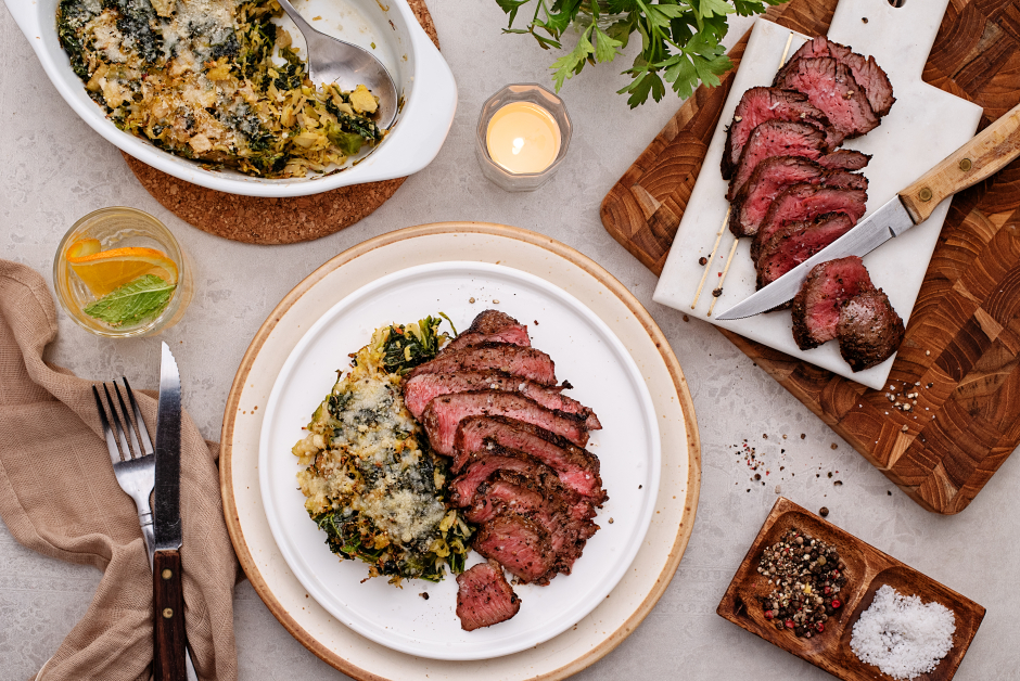 Spice-Dusted Seared Steak