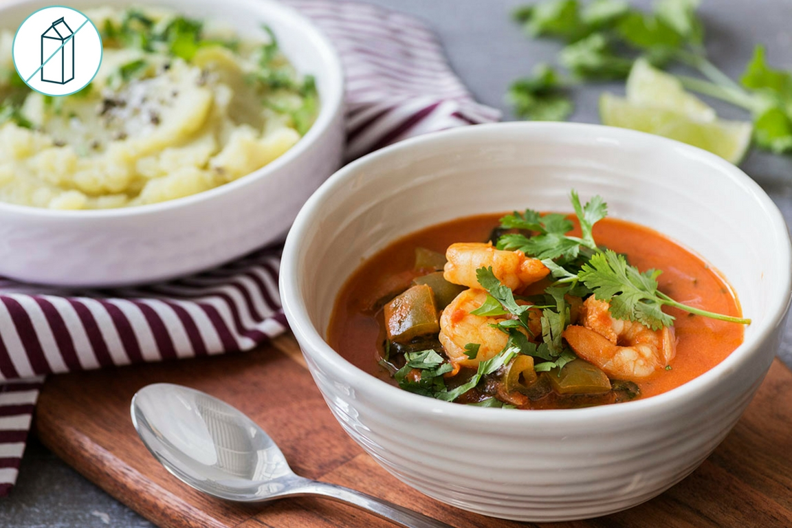 Brazilian Shrimp & Veggie Stew
