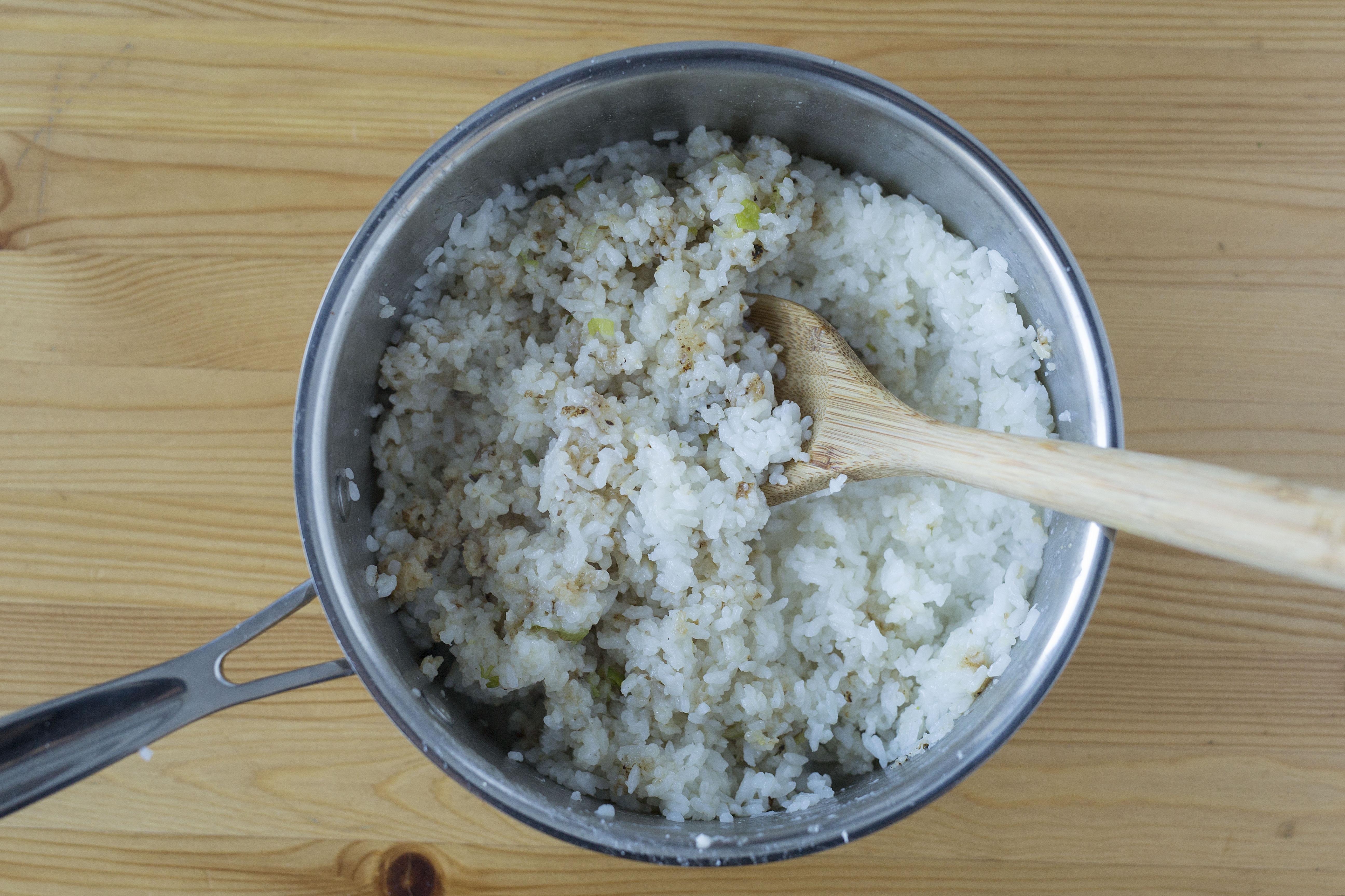 B uf l gumes l hawa enne avec riz croustillant - Absorber l humidite avec du riz ...