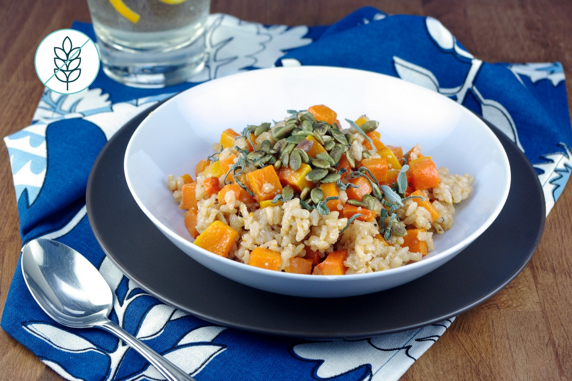 Risotto with Sweet potatoes
