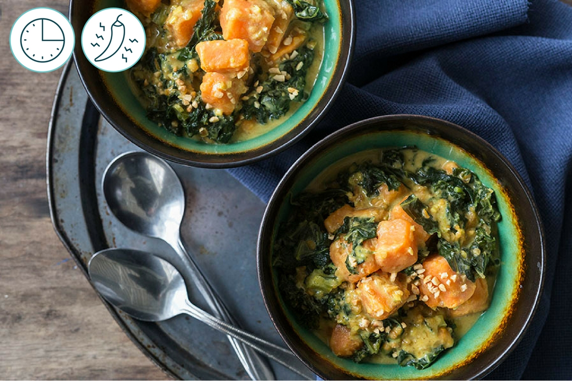 Sweet Potato and Kale Ragout